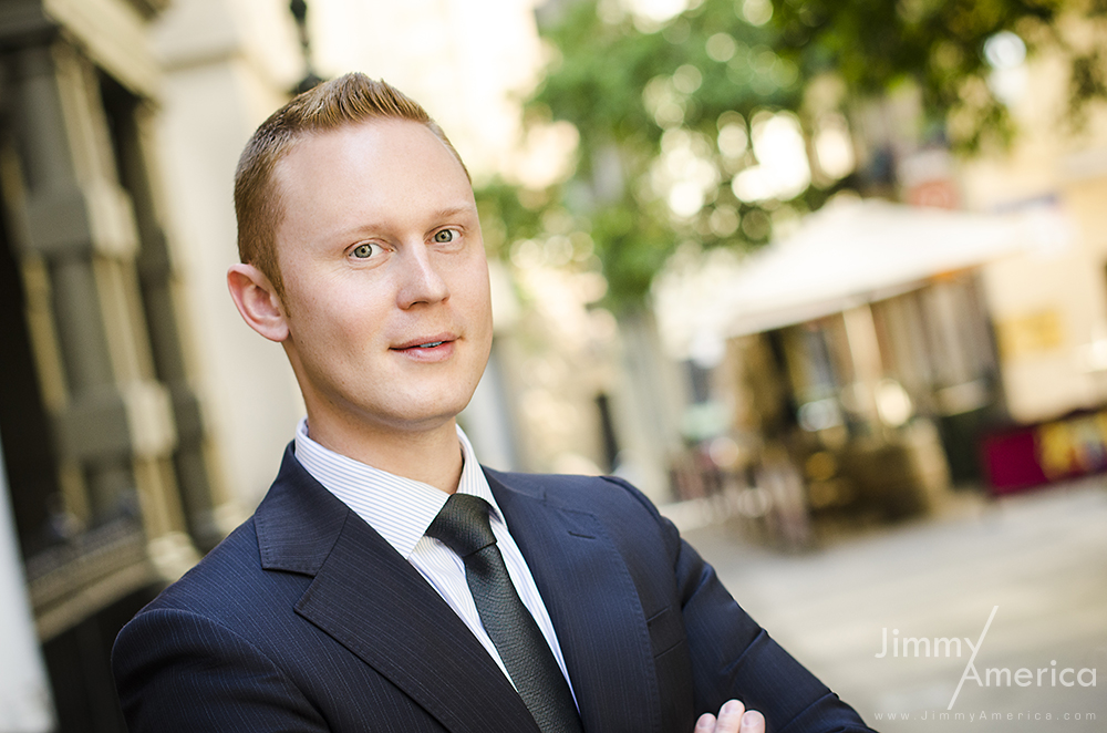 Outdoor Business Portrait in Melbourne